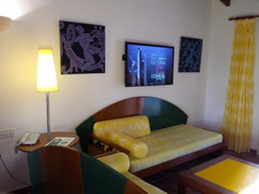 Sala de estar de un Apartamento de 2 dormitorios