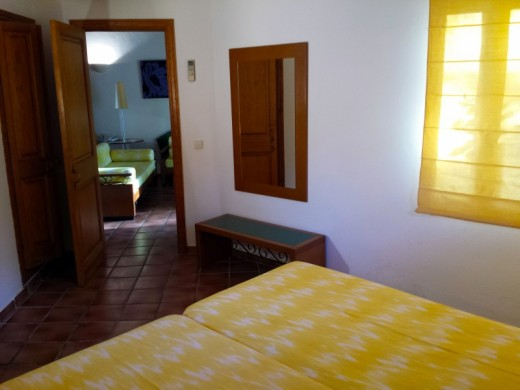 Dormitorio doble de un Apartamento de 2 dormitorios