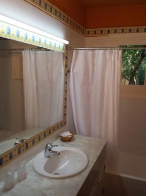 Cuarto de Baño (tanto para el apartamento de 1 como en el de 2 dormitorios)
