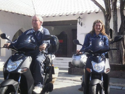 Alquiler de scooter