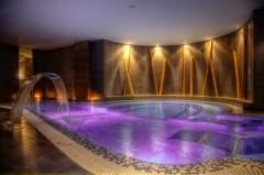 Habitación doble con acceso al spa